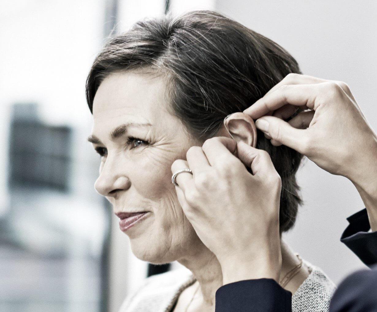 Hörgeräte helfen bei Hörverlust