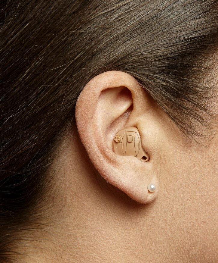 Im-Ohr-Hörgerätetypen ITC