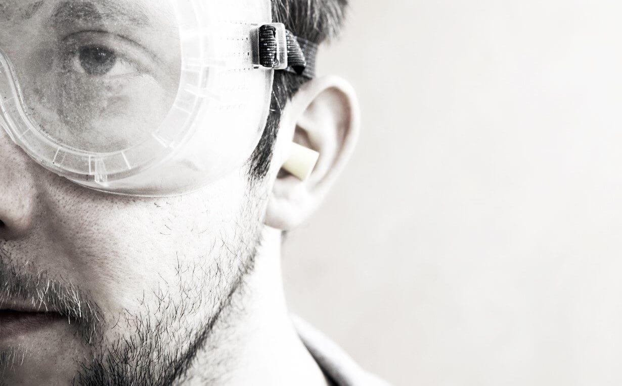 Standard-Gehörschutz schnell und einfach