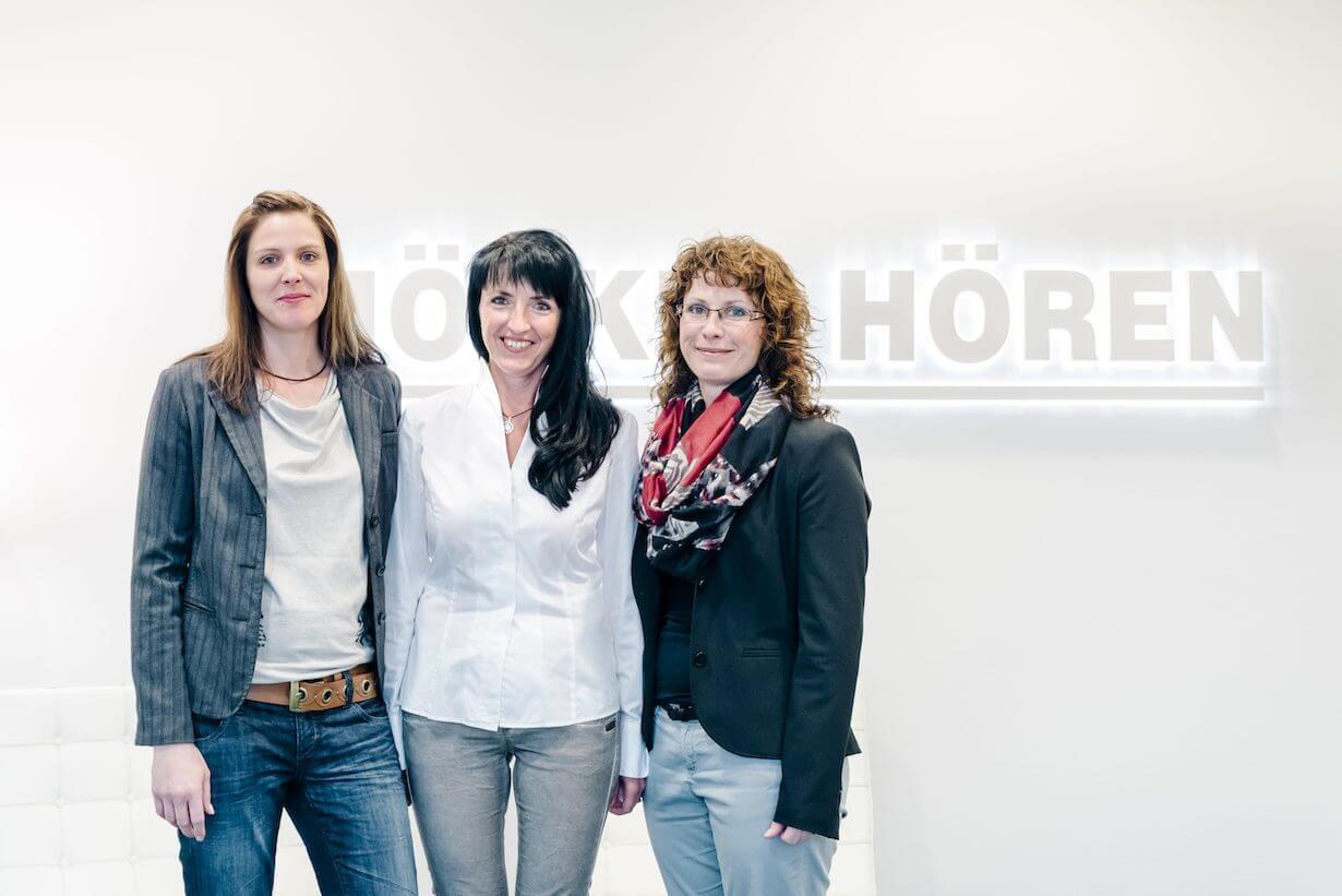 Vertrauensvolles Miteinander im Unternehmen der Hörgeräteakustiker
