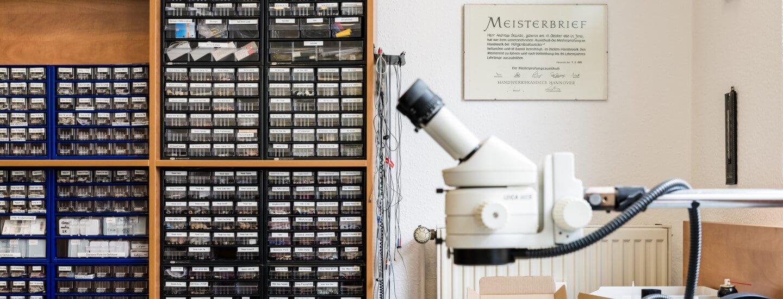 Hörgeräte-Werkstatt in Meiningen