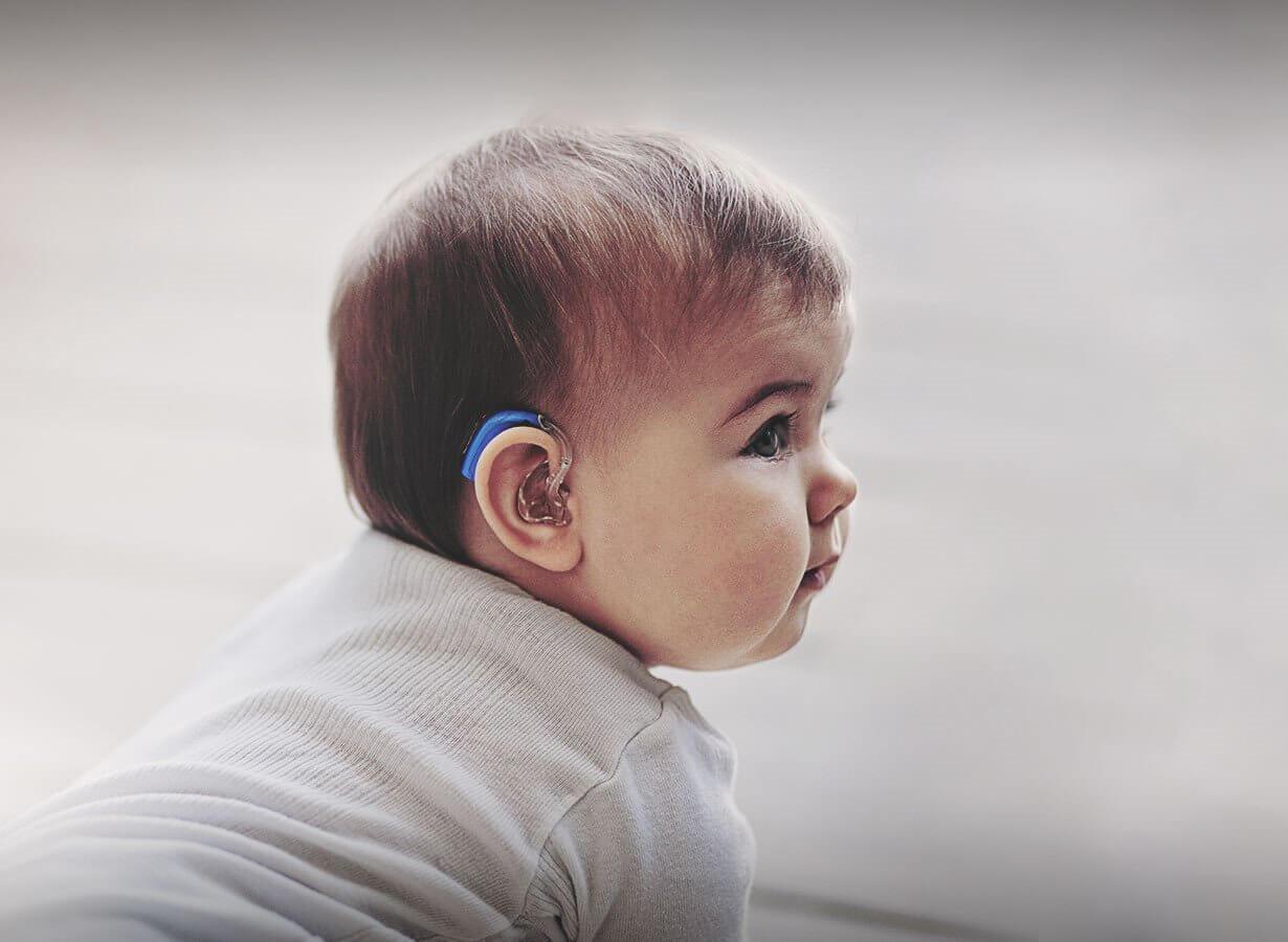 Hörgeräte für Kinderohren