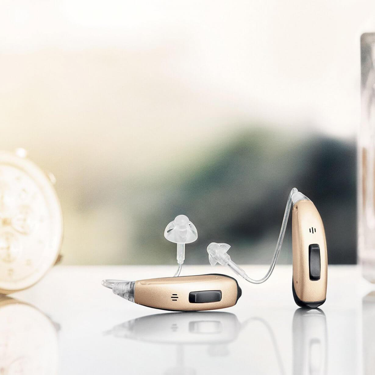 Rundumschutz für die Hörgeräte