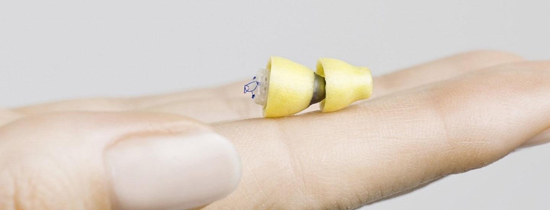 Unsichtbares Hörgerät Lyric bei hörgeräte möckel
