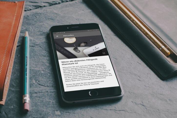 Hörgeräte App News