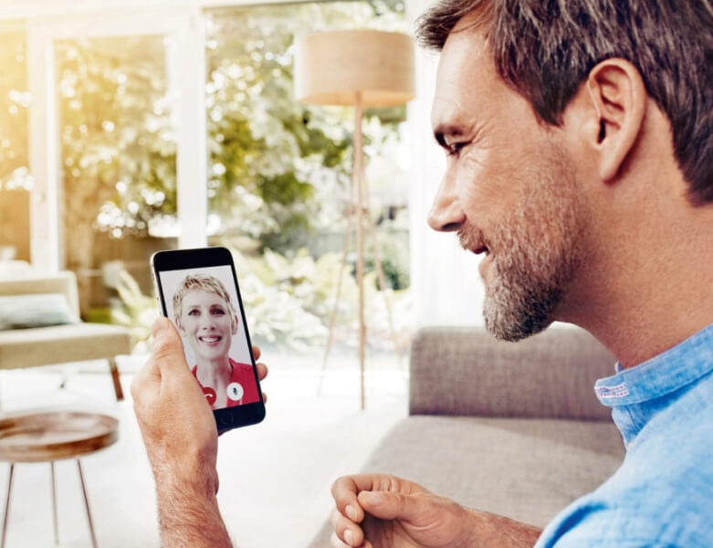 Hörgeräte anpassen per Video-Chat